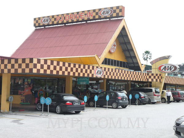A&W Drive In Seksyen 52, PJ New Town Closer View