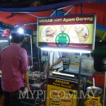 Malay flavor of Alisan fried chicken called Arisan Ayam Goreng