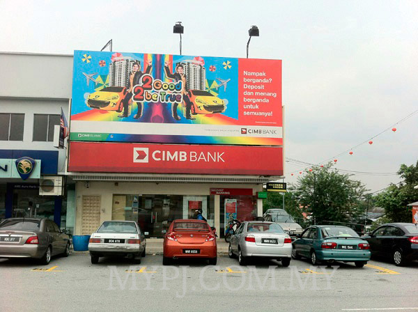 CIMB Seapark Branch Section 21 Front View