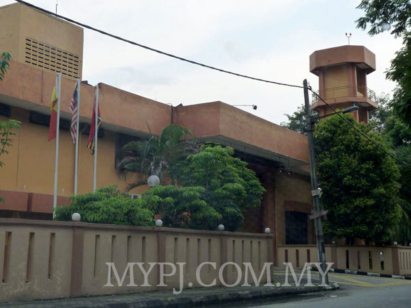 Damansara Fire Station (Balai Bomba & Penyelamat) Building View