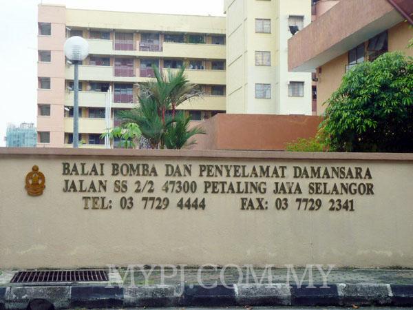 Damansara Fire Station (Balai Bomba & Penyelamat)