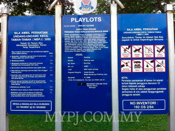 Playground Details