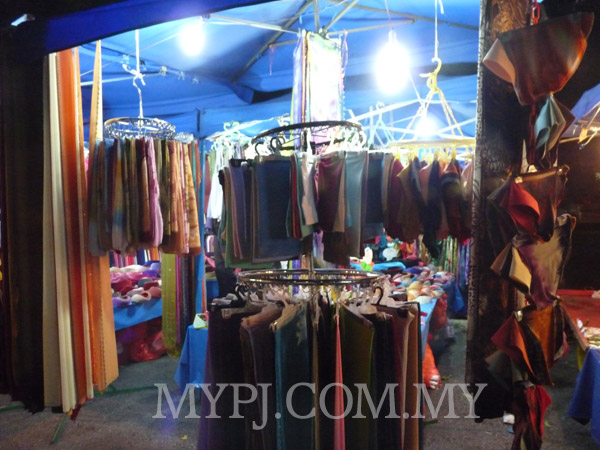 Stall selling Malay costumes