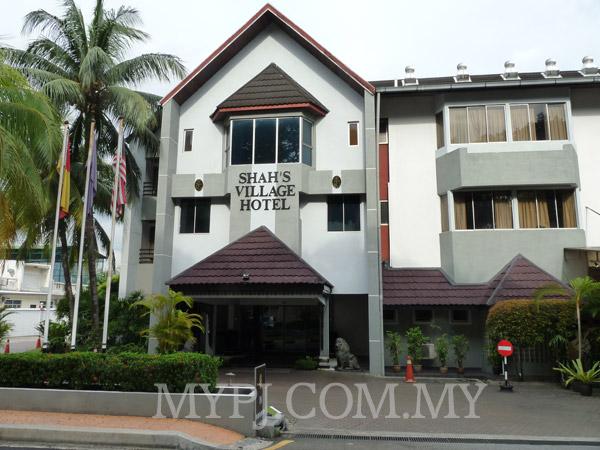 Shah's Village Hotel Entrance View