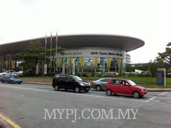 Toyota Showroom and Service Centre In Seksyen 19 PJ