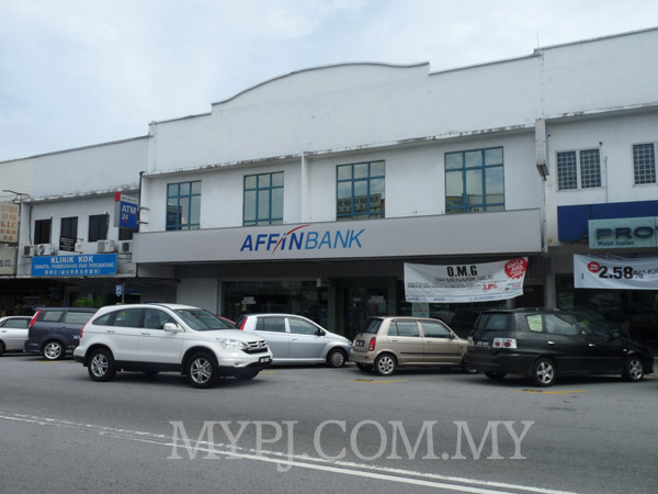 AFFIN Bank SEA Park Branch, Section 21, PJ