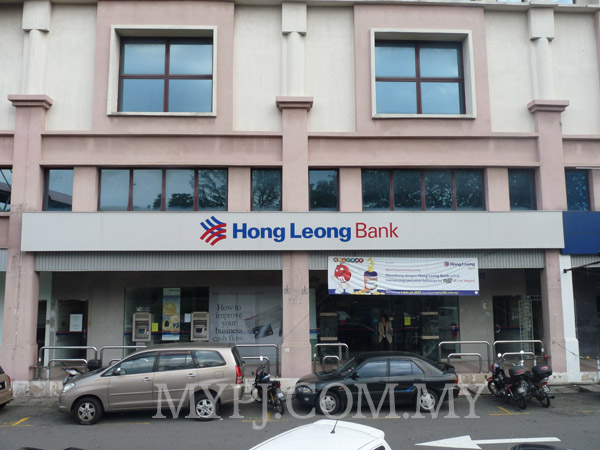 Front View of Hong Leong Bank SS 23