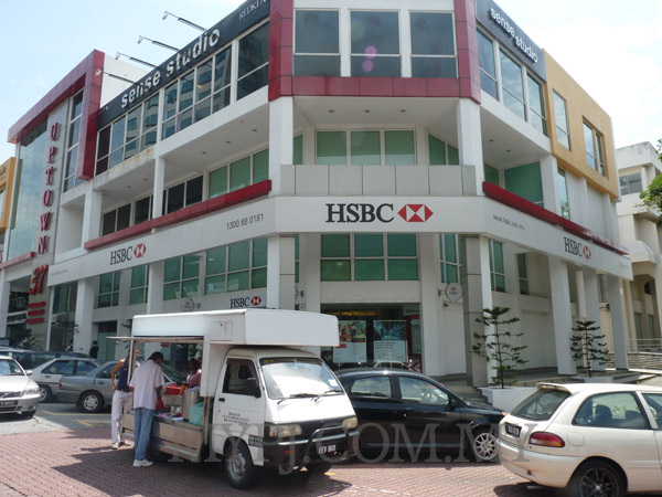 HSBC Damansara Uptown Branch, Damansara Utama, SS 21, Petaling Jaya