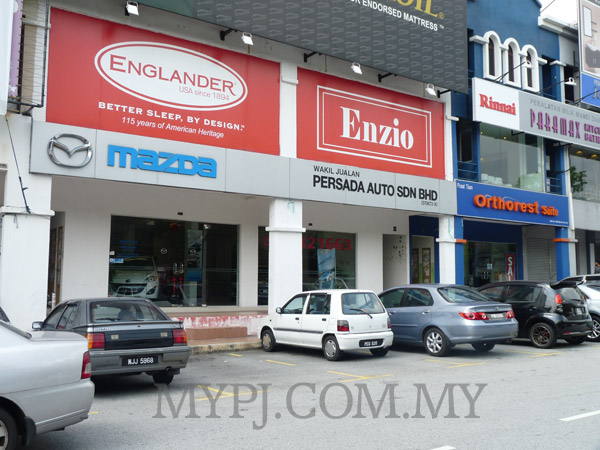 MAZDA Showroom Dealer, Dataran Sunway, Kota Damansara