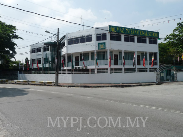 Maz International School View From Main Road (Jalan 20/14)