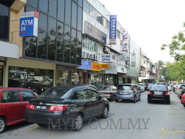 Shop Lots Along Jalan SS 2/24 (One Way Street)