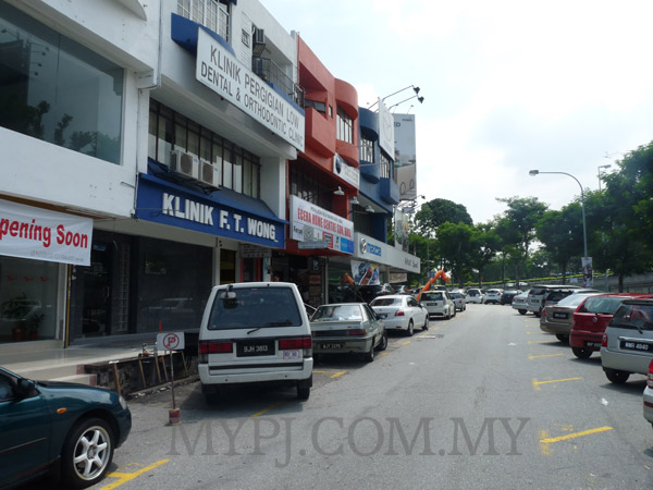 Shop Lots Along Jalan SS 24/2, Taman Megah