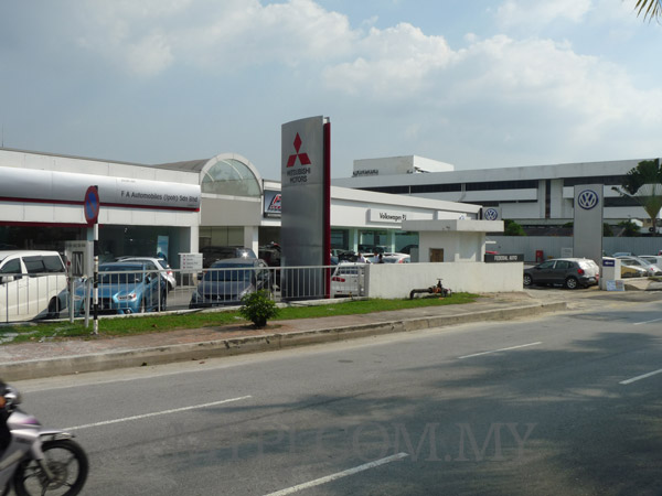 Volkswagen PJ Showroom & Service Centre View From Jalan 51A/222