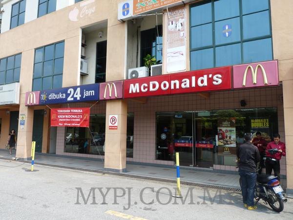 McDonald's Kelana Jaya in Kelana Parkview, SS 6, Petaling Jaya