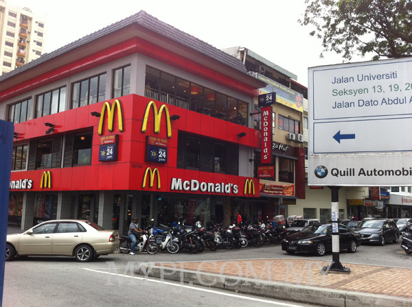 McDonald's Section 14, Petaling Jaya