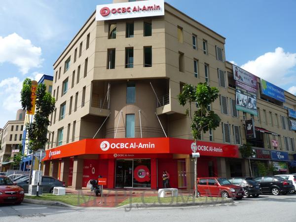 OCBC Al-Amin Kota Damansara Branch in The Strand, Kota Damansara, Petaling Jaya