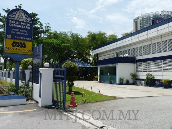 View Inside Damansara Police Station