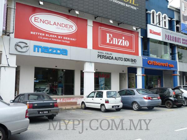 MAZDA Showroom Dealer, Dataran Sunway, Kota Damansara