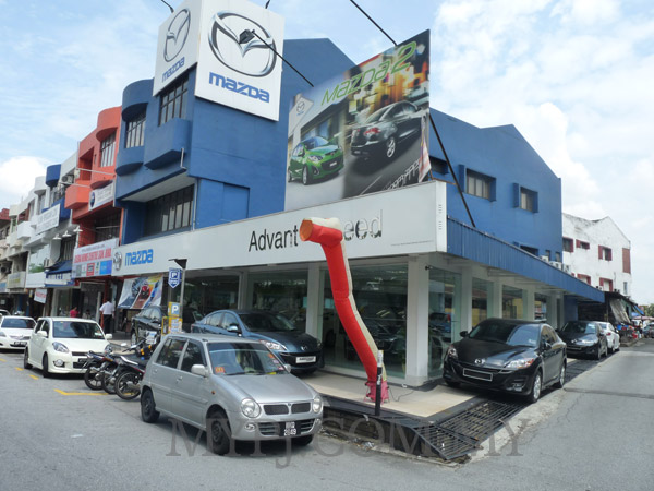 Mazda Showroom Dealer in Taman Megah, SS 24, Petaling Jaya