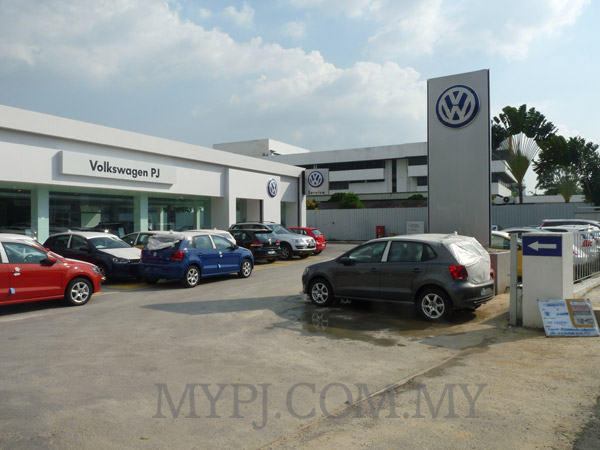 Volkswagen PJ Showroom & Service Centre in Section 51A, Petaling Jaya