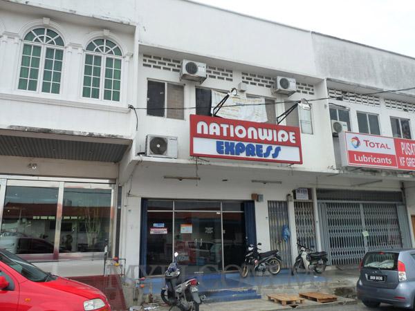 Nationwide Express SEA Park Business Service Center (BSC) in Section 21, Petaling Jaya